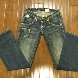 Vintage Rebel original cut jean